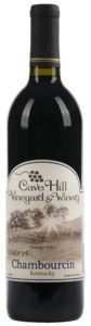2016 Best Boutique: Cave Hill Vineyard & Winery, Reserve Chambourcin